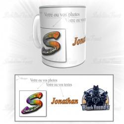 Mug Black Hounds Personnalisable