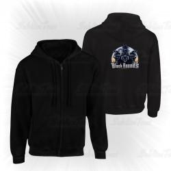Sweat shirt zippé Black Hounds